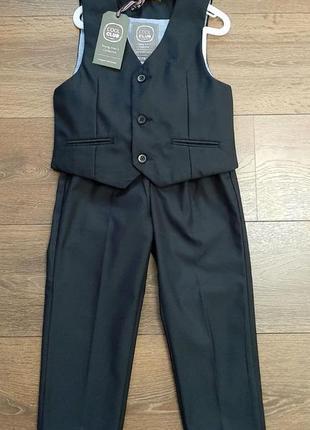 Школьная форма костюм жилетка и брюки cool club