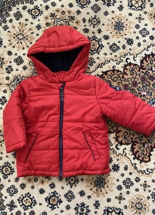 Курточка на флисе mothercare 12-18 мес
