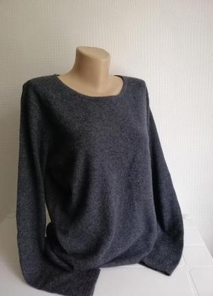 Кашемировый , удлиненный свитер mark adam, 100% кашемир,размер m, l, xl,xxl (14)