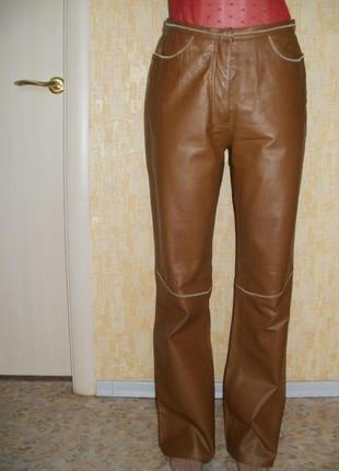 Современные брюки из натуральной кожи кожаные брюки брюки джинсы