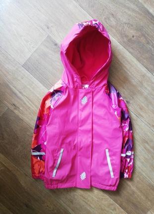 Lupilu дождевик на флисе, курточка, куртка, ветровка