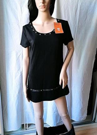 Новое с биркой трансформер платье-туника с мехом juane rouge париж (к086)5 фото