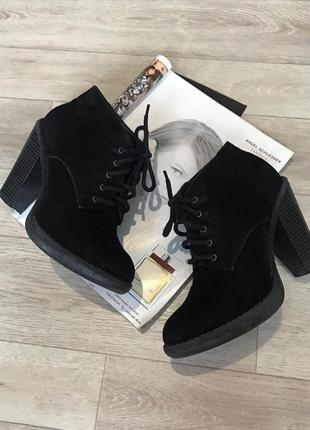 Замшевые ботинки / замшеві черевики