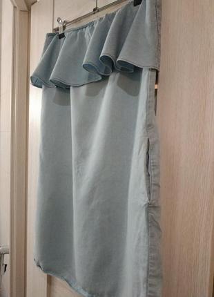 Крутое джинсовое легкое платье2 фото