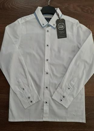 Школьная форма белая рубашка cool club
