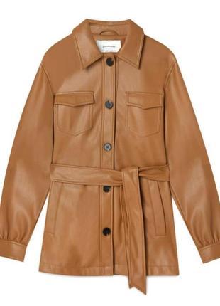 Трендова куртка рубашка stradivarius