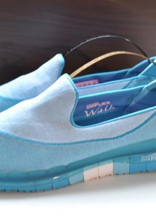 Skechers 37р кроссовки мокасины. оригинал. туфли сникерсы