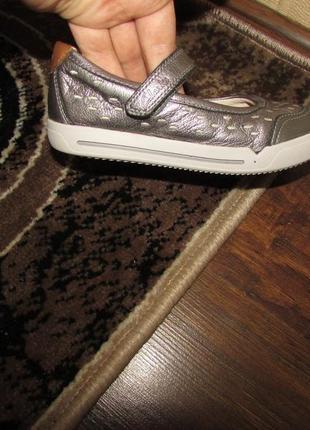 Clarks туфельки 17.5 см устілка