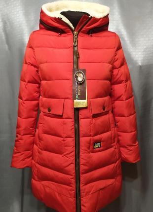 Зимняя куртка пуховик btelass