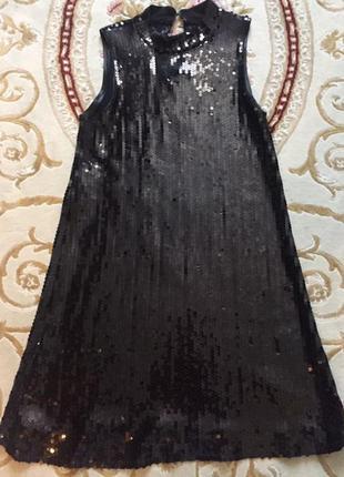 Платье в пайетках!
