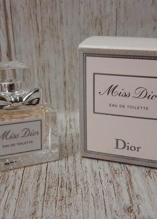 Christian dior miss dior  туалетная вода (мини)