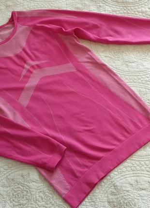 Розовая спорт кофта рашгард термо, германия