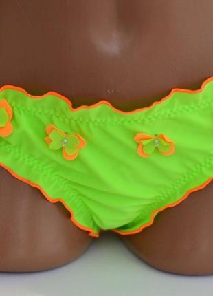 Детские плавки для девочки от 2 до 5 лет