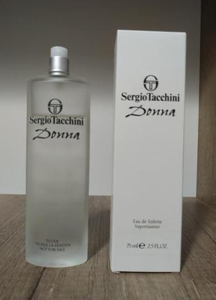 Sergio tacchini donna туалетная вода (тестер без крышечки)