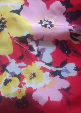 Крупные цветы, платье, george , l-xl4 фото