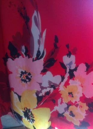 Крупные цветы, платье, george , l-xl9 фото