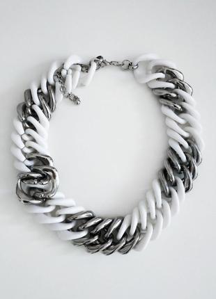 Украшение на шею ожерелье колье цепь