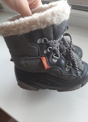 Зимние ботинки дутики сноубутсы demar
