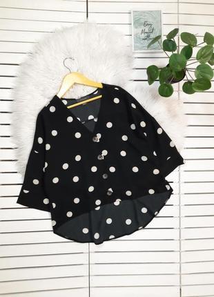 Блуза блузка в горох primark p. s-m