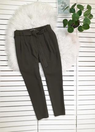 Брюки штаны с поясом цвет хаки george l-xl