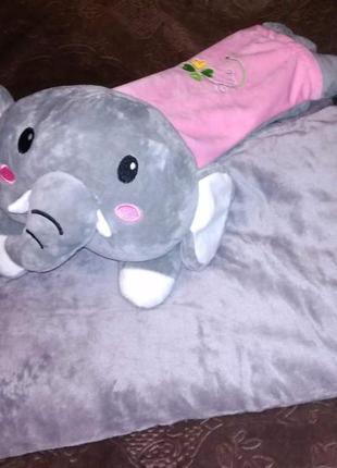 Плед  игрушка слоник