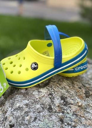 Кроксы crocband kids