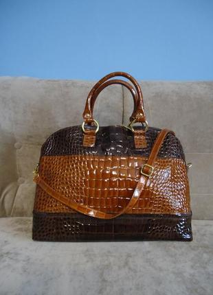 Новая женская кожаная сумка borse in pelle италия