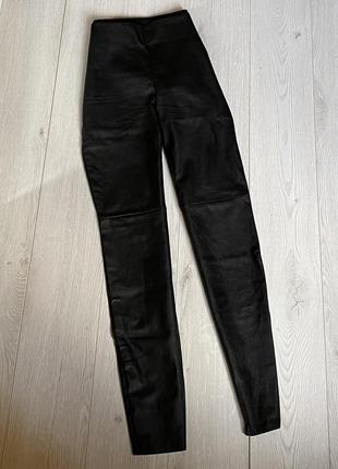 Плотные штаны под кожу