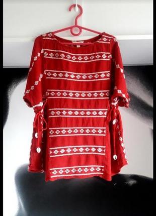 Вышитая блуза, рубашка, вышиванка