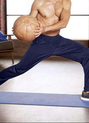 Темно синие мужские спортивные штаны crivit! нюанс! цена снижена!