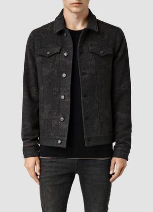 Шерстяна куртка allsaints warren - xl