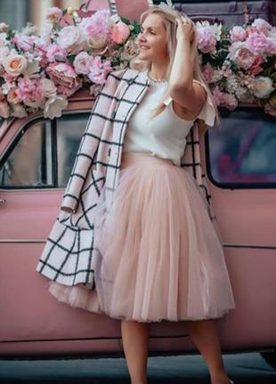 Фатиновая юбка тюль мягкая
