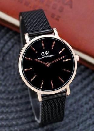 Наручные часы daniel wellington 32 мм black