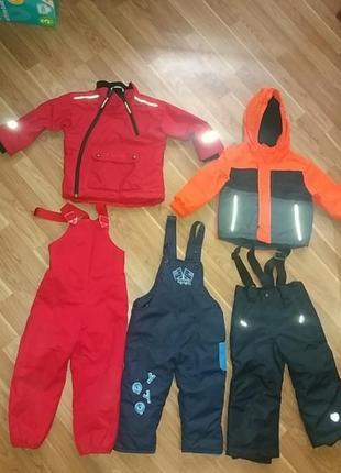 Тёплые вещи на ребенка 1-3 года