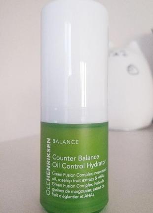 Балансирующий увлажняющий крем с кислотами ole henriksen counter balance oil control