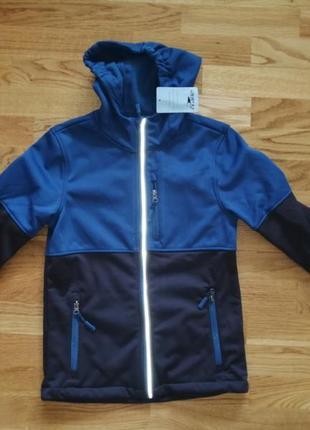 Куртка crane softshell размер 146/152  смотрите замеры
