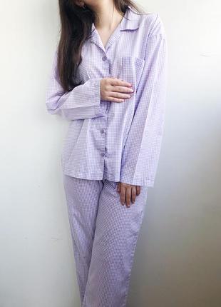 Пижама комплект нежная штаны и рубашка