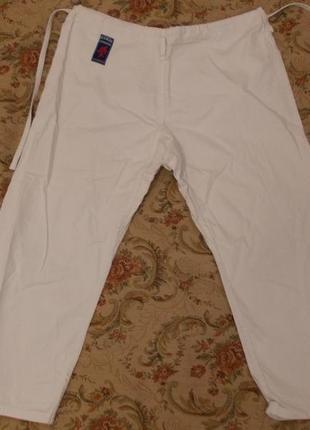 Штаны от кимоно для единоборств на рост 180 см