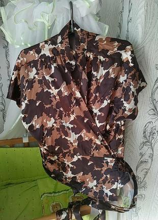 Блузка на запах oggi