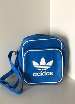 Кожана сумка adidas original