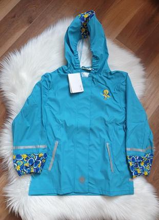 Lupilu куртка дождевик грезепруф без флиса 112-128 р на 6-8 лет.
