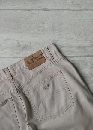 Мужские винтажные джинсы armani jeans indigo 002