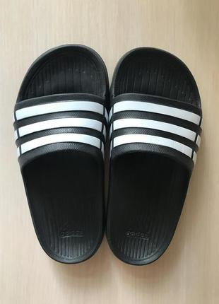 Шлёпанцы adidas duramo slide black оригинал сланцы