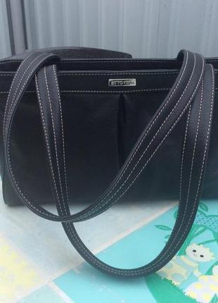 Фирменная сумка из натуральной кожи otto kern