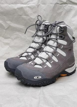 Salomon зимние ботинки сапоги 24, 5 см 39 р. оригинал  gore-tex