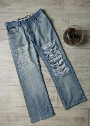 Мужские винтажные джинсы dolce gabbana  33
