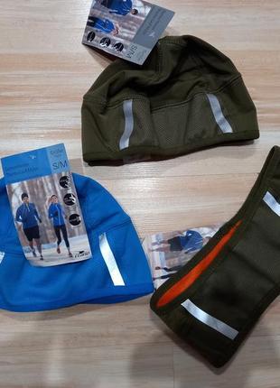 Шапка повязка для бега велоспорта