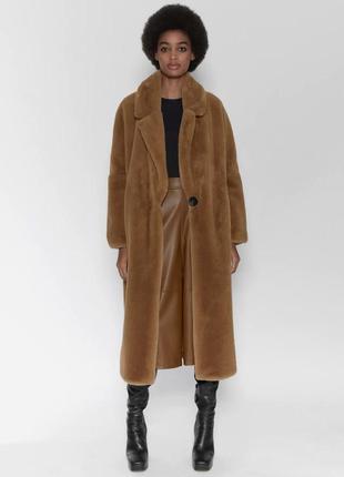 Меховое пальто - шуба zara