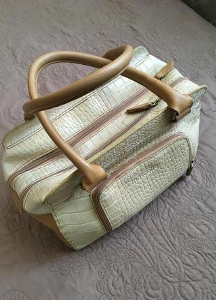 Кожаная итальянская сумка mascotte