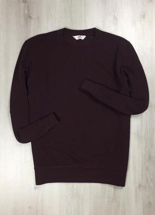 F8 свитшот next бордовая мужская кофта толстовка свитер худи некст нехт